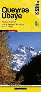 IGN - Queyras, Ubaye : Parc naturel régional, Tour du Viso, Tour du Queyras, Tour de l'Ubaye - 1/60 000.