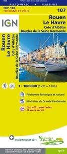 IGN - Rouen/Le Havre - 1/100000.