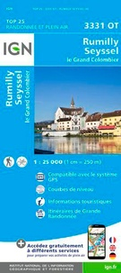 IGN - Rumilly, Seyssel, le Grand Colombier - 1/25 000.