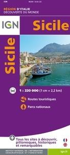 IGN - Sicile - 1/220 000.