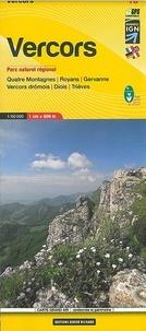 IGN - Vercors, Quatre Montagnes, Royans, Gervanne, Vercors drômois, Diois, Trièves - 1/60 000.