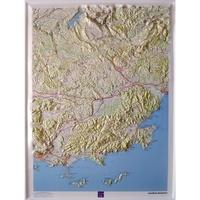 Lemememonde.fr Verdon Maures - 1/100 000 (carte en relief 60151) Image