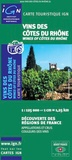 IGN - Vins des Côtes du Rhône - 1/125 000.