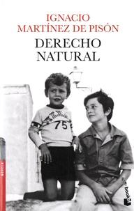 Ignacio Martinez de Pison - Derecho natural.