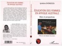 Ignatiana Shongedza - Education des femmes en Afrique australe.