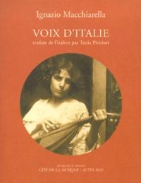 VOIX DITALIE. Avec CD-Audio.pdf