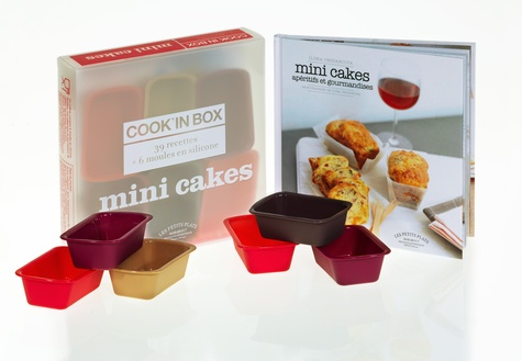 Ilona Chovancova - Mini cakes - Cook'in Box 39 recettes + 6 moules en silicone.