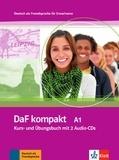Ilse Sander et Birgit Braun - DaF kompakt A1 - Kurs- und Ubungsbuch. 2 CD audio