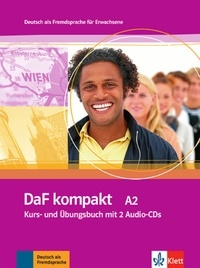 Ilse Sander et Birgit Braun - DaF kompakt A2 - Kurs- und Ubungsbuch. 2 CD audio