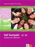Ilse Sander et Birgit Braun - DaF kompakt Kursbuch A1-B1. 3 CD audio