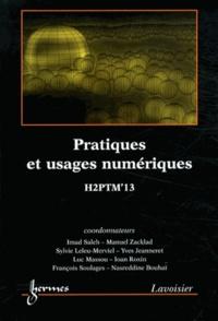 Pratiques et usages numériques- Actes de H2PTM' 13 - Imad Saleh pdf epub