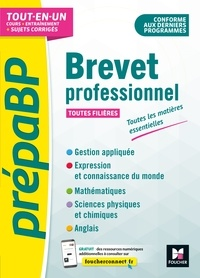 Imbert Aimeric et Véronique Hardy - PrépabrevetPro - Brevet professionnel - Toutes les matières générales - Révision et entrainement.