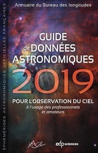 IMCCE - Guide de données astronomiques  2019 - pour l'observation du ciel.