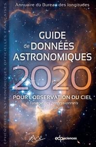 IMCCE - Guide de données astronomiques 2020 - pour l'observation du ciel.