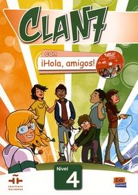 Openwetlab.it Espagnol Clan 7 Nivel 4 Libro del alumno - Con iHola, amigos! Image