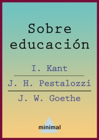 Immanuel Kant - Sobre educación.
