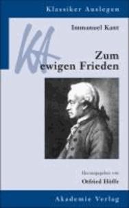 Immanuel Kant: Zum ewigen Frieden.