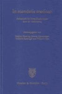 In mandatis meditari - Festschrift für Hans Paarhammer zum 65. Geburtstag.