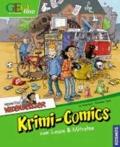 Bernhard Speh et Ina Rometsch - Geolino: Redaktion Wadenbeißer - Krimi-Comics zum Lesen und Mitraten.