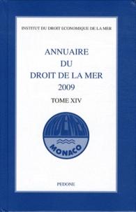 Deedr.fr Annuaire du droit de la mer 2009 - Tome 14 Image