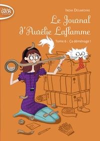 India Desjardins - Le Journal d'Aurélie Laflamme Tome 6 : Ca déménage !.