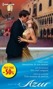 India Grey et Lee Wilkinson - Amoureuse de son ennemi - Un cruel soupçon - Une semaine de passion - (promotion).