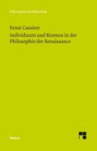 "Individuum und Kosmos in der Philosophie der Renaissance - Im Anhang: ""Some Remarks on the Question of the Originality of the Renaissance""."