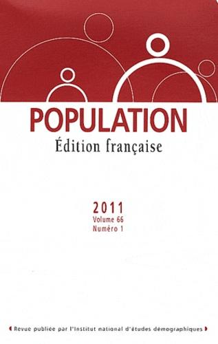Chantal Cases - Population Volume 66 N° 1, Janv : .