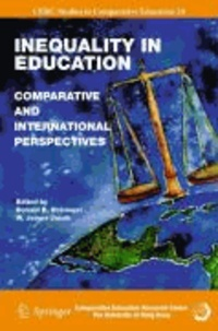 Donald B. Holsinger - Inequality in Education - Comparative and International Perspectives.