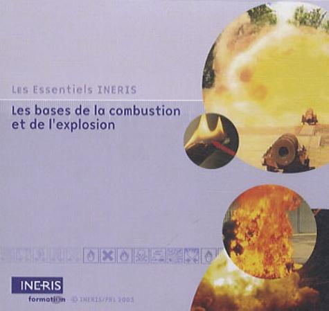 INERIS formation - Les bases de la combustion et de l'explosion - CD-Rom.