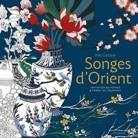 Inès Carratié - Songes d'Orient - Invitation au voyage & livre de coloriage.