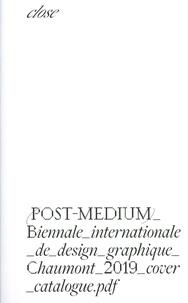 Ines Cox - Catalogue de la biennale internationale de design graphique.