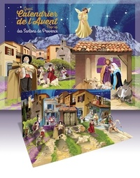 Téléchargement d'ebooks to nook gratuitement Grand calendrier de l'Avent pop-up des santons de Provence 9791033607519