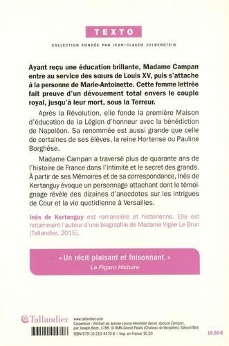Madame Campan. Première femme de chambre de Marie-Antoinette