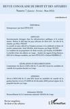 Inès Féviliyé - Revue congolaise de droit et des affaires N° 7 :  - (Janvier/février/mars 2012).