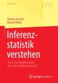 Inferenzstatistik verstehen - Von A wie Signifikanztest bis Z wie Konfidenzintervall.