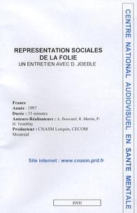 Denise Jodelet - Représentations sociales de la folie. 1 DVD