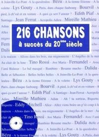Infomer - 216 chansons à succès du 20ème siècle.