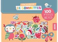 Inga Wilmink - Ma pochette de gommettes Les p'tites bêtes.