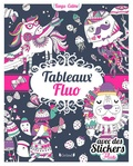 Inga Wilmink - Tableaux fluo - Avec des stickers fluo.
