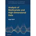 Inge Koch - Analysis of Multivariate and High-Dimensional Data.