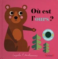 Ingela P. Arrhenius - Où est l'ours ? - Des volets en feutrine.