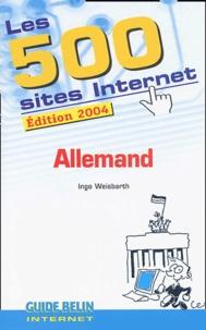 Ingo Weisbarth - Les 500 Sites Internet Allemand.