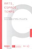 INHA - Arts, espace, temps - Histoire des arts, actes de l'université de printemps, 31 mai - 1er juin 2012, château de Fontainebleau, festival de l'histoire de l'art.