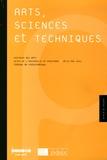 INHA - Arts, sciences et techniques - Histoire des arts, actes de l'université de printemps, 26-27 mai 2011, château de Fontainebleau.