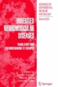 Carmen Espinós - Inherited Neuromuscular Diseases - Translation from Pathomechanisms to Therapies.