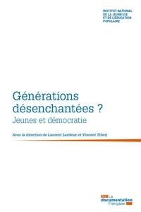 INJEP et Vincent Tiberj - Générations désenchantées ? - Jeunes et démocratie.