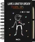 Inka Vigh - Livre à gratter créatif Pocket art - Je me défoule - Avec un outil à gratter.