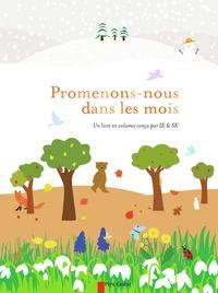 Inkyeong Kim et Sunkyung Kim - Promenons-nous dans les mois - Un livre en volumes conçu par IK & SK.
