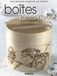 Inna Millet - Boîtes décoratives - Serviettage, cartonnage, feutrine....